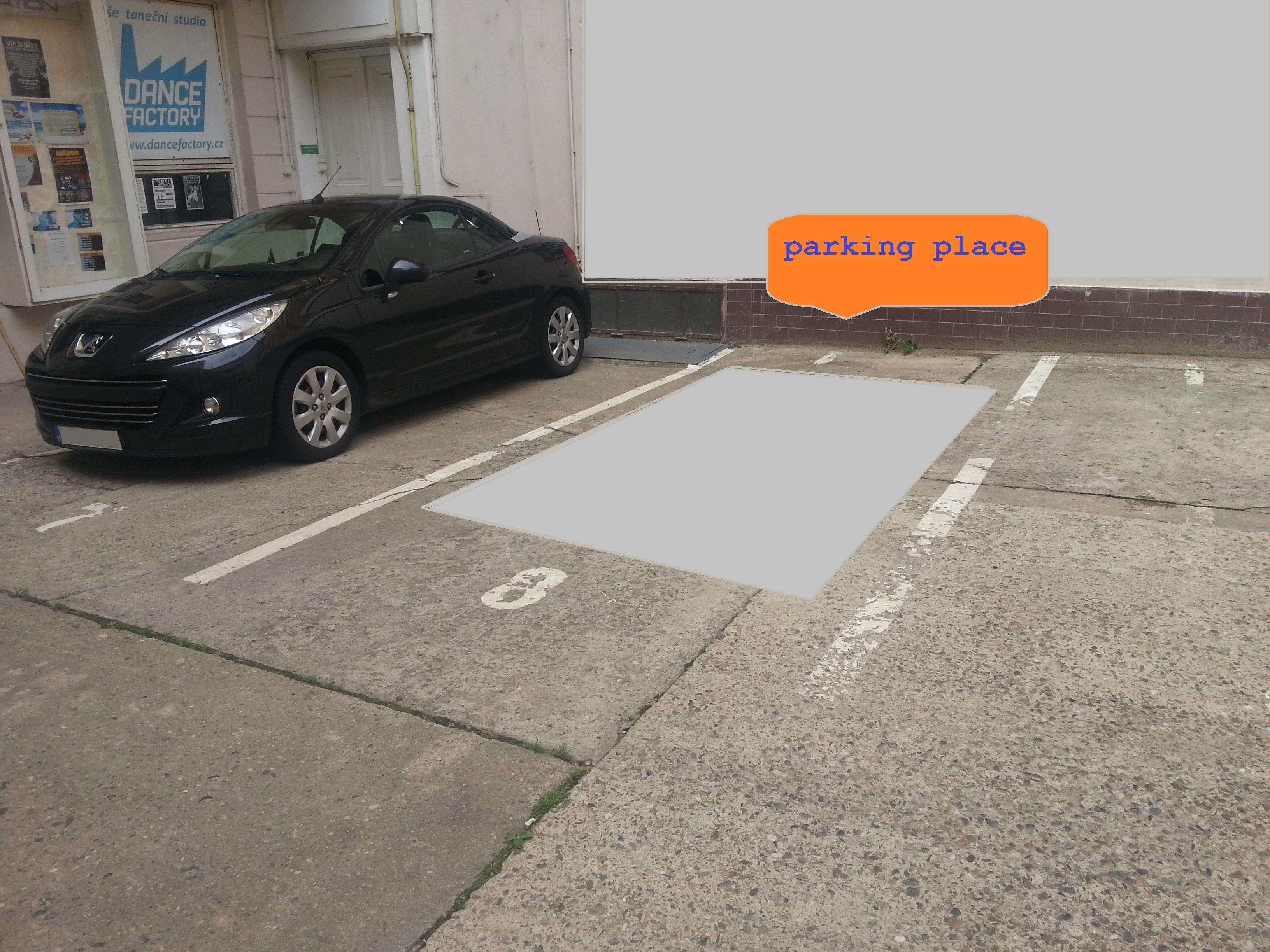 Jindrisska 7 Parking place