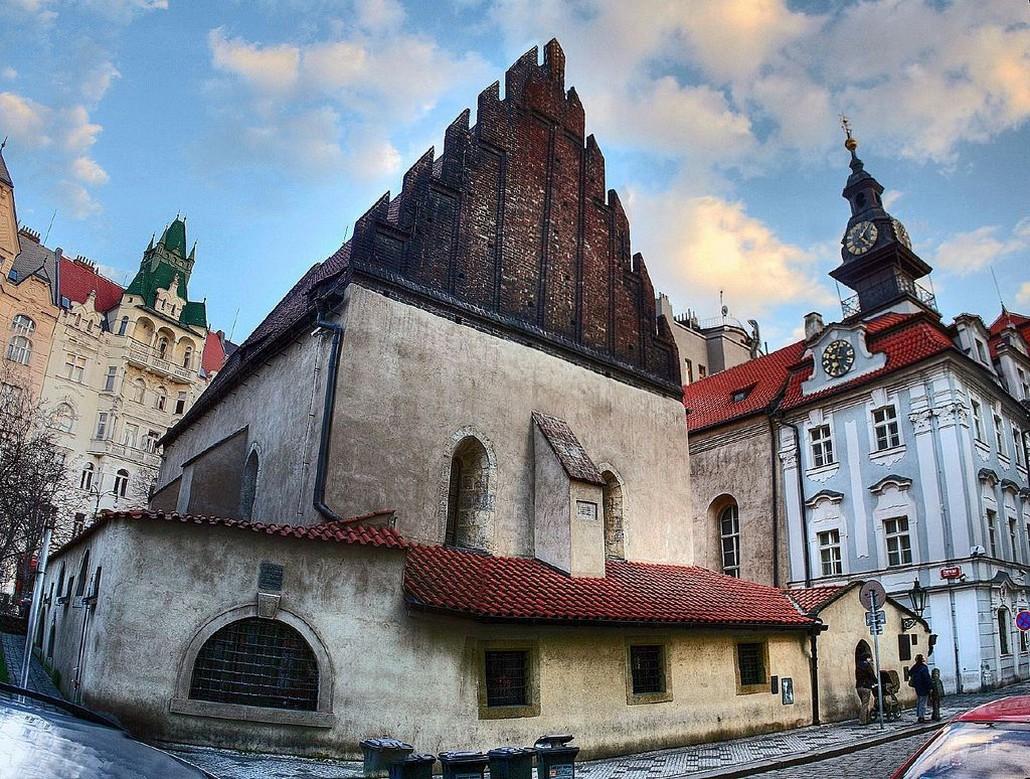 Прага Старо-Новая Синагога